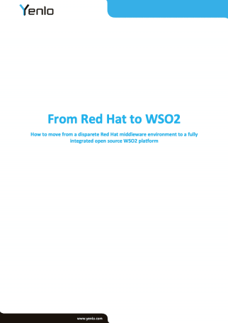 Whitepaper - From Red Hat to WSO2 - Cover