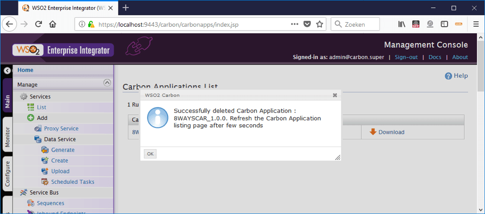 8 ways to deploy a car file to wso2 - delete car file