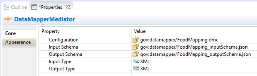 DataMapperMediationProperties
