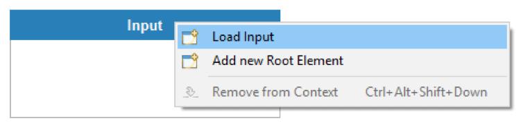 Datamapper Load input