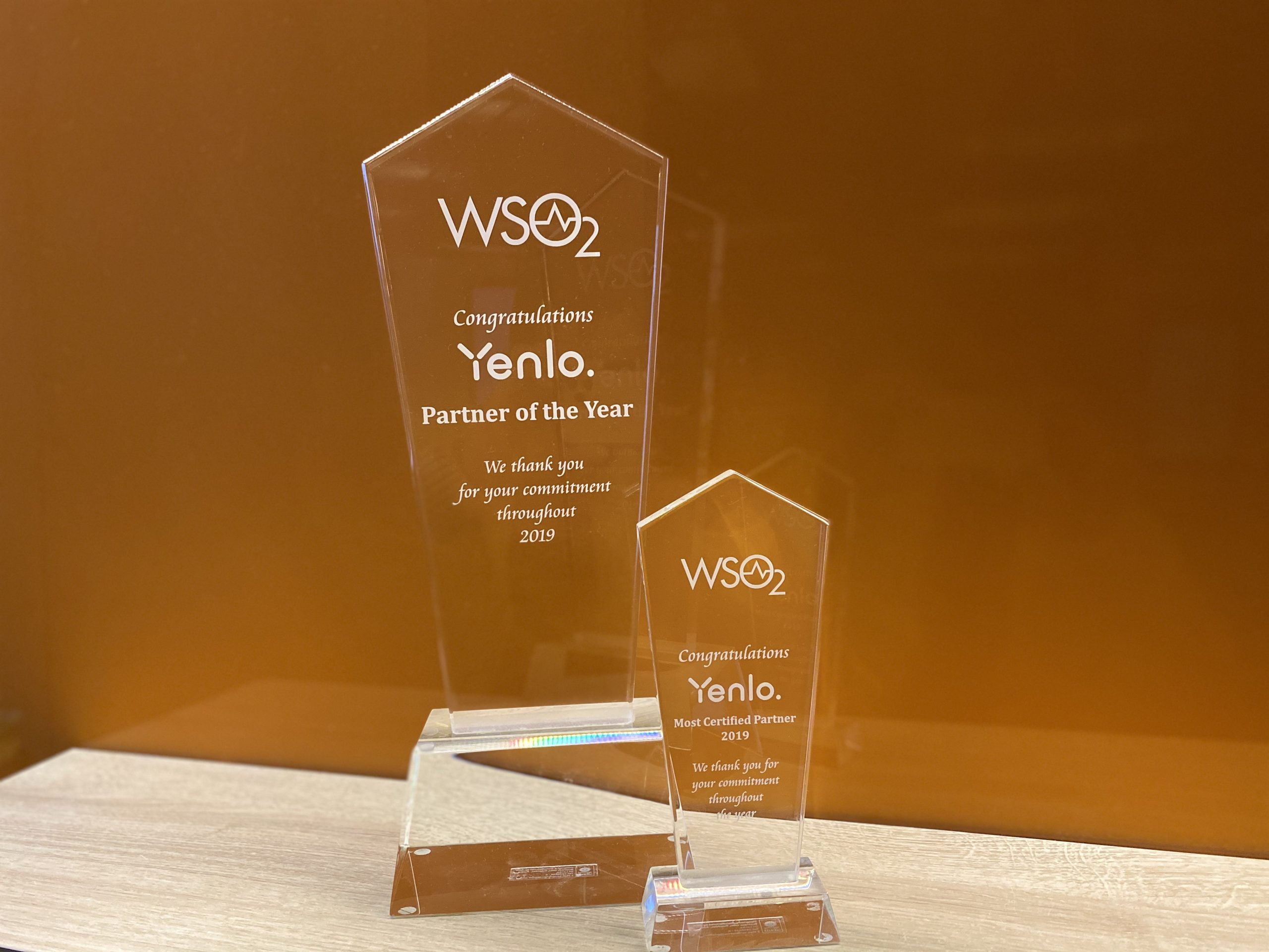 WSO2 Recognizes Integration Specialist Yenlo with Partner of the Year Award 2019