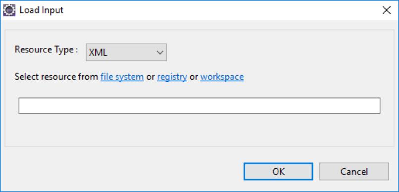 Load input - resource type