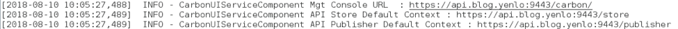 Starting WSO2 APIM with wso2server.sh or bat