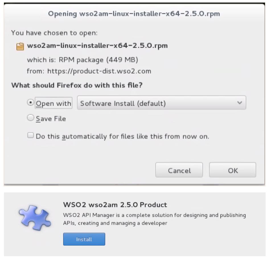 WSO2 APIM 2.5.0 installer