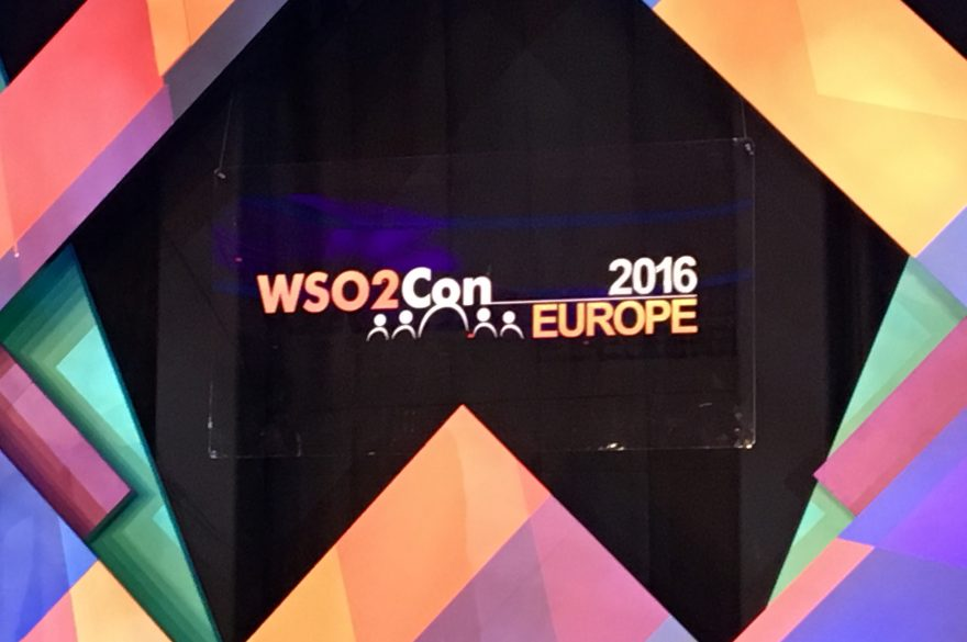 WSO2ConEU 2016:  WSO2 and containerized deployments