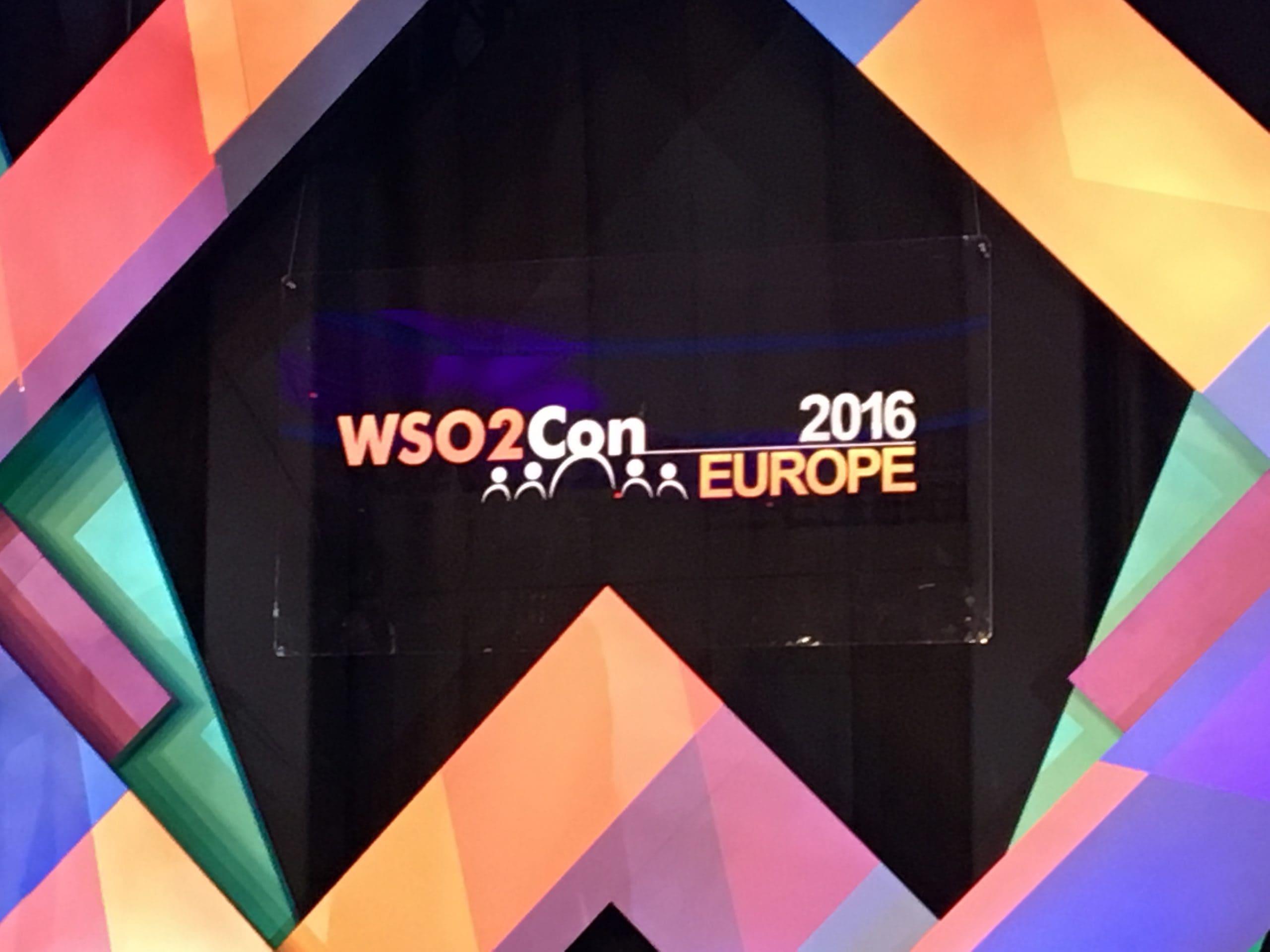 WSO2ConEU 2016