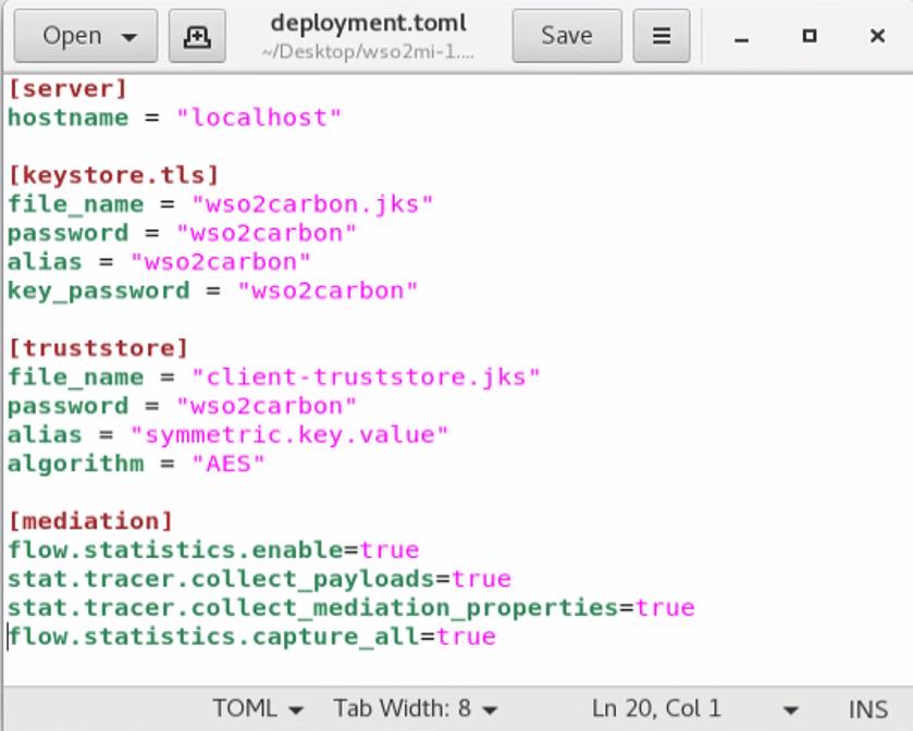 deployment.toml file