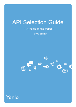 Whitepaper - API Selection Guide