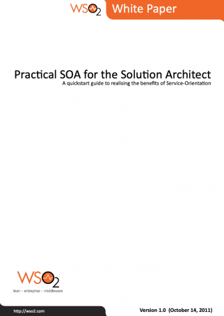 Whitepaper Practical SOA for the Solution Architecture