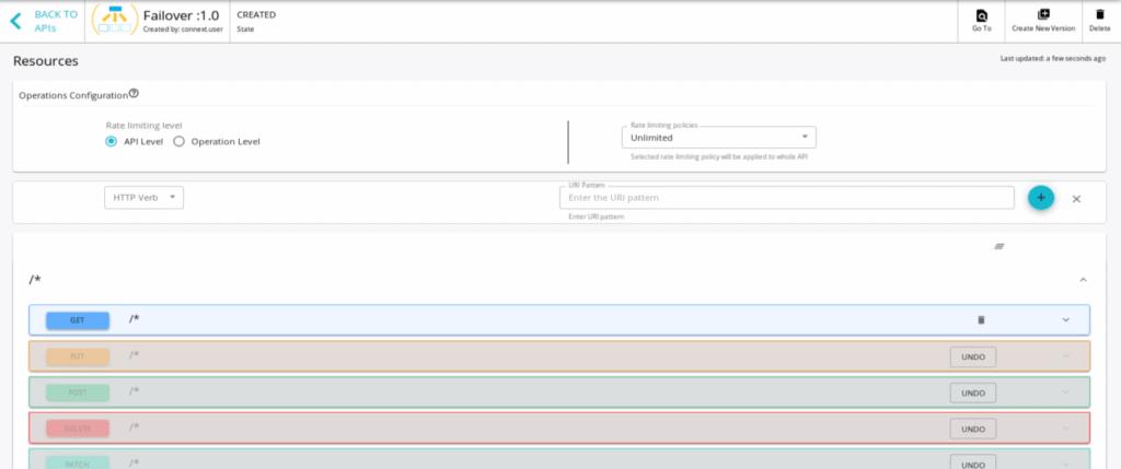 API Failover endpoints 6