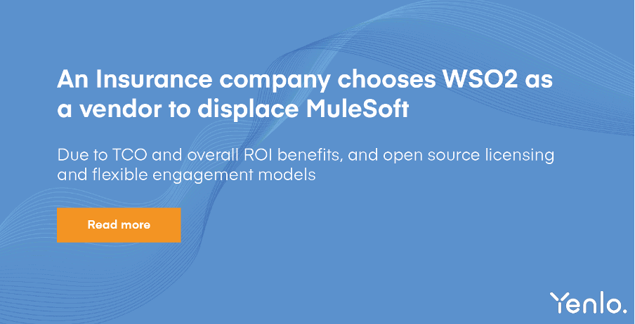 WSO2 vs. Mulesoft Banner